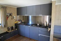 Sikringshytta, kjøkkenet - Foto: Lars K. Gjerde