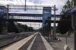 Heggedal stasjon -  Foto: Anders Sten Nessem