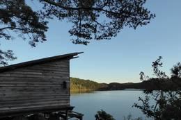 Utsikten fra gapahuken er upåklagelig. - Foto: Øyvind Brennsæter