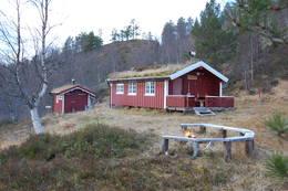 Hermannhytta -  Foto: Kristiansund og Nordmøre Turistforening