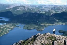 Bjørndalsfjellet -  Foto: Ukjent