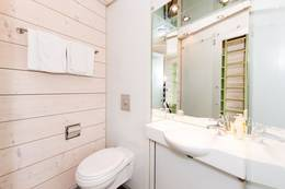 Preikestolen fjellstue tilbyr også rom med bad og dysj på rommene - Foto: Preikestolen fjellstue
