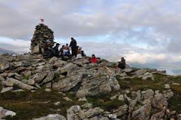 Toppen av Kluvekeipen -  Foto: Oddgeir Havn