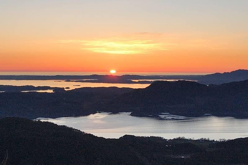 Utsikt frå Dyraskarfjell