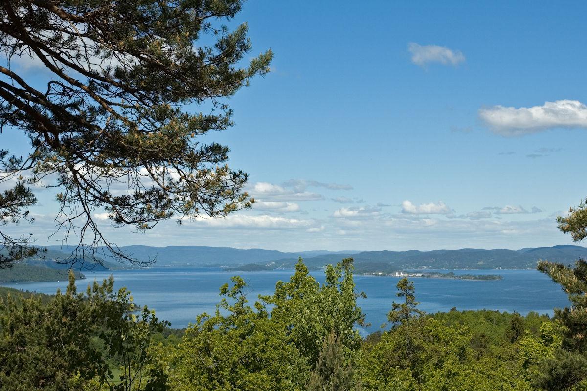 Fra Utsikten mot Langøya.