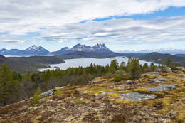 Utsikt vestover - Foto: Kjell Fredriksen