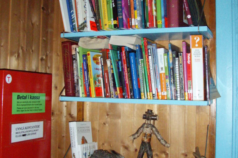 Hovstøyls fjellbibliotek