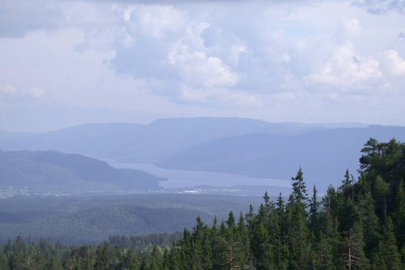 Utsikt fra Holtefjell