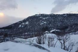Utsikt mot Børra - Foto: Kjell Fredriksen