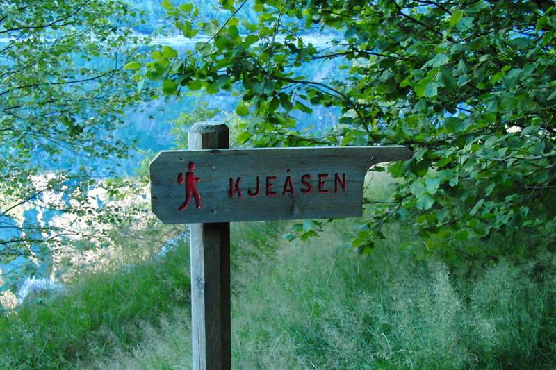 På vei til Kjeåsen