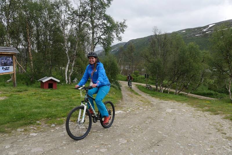 Sykler kan lånes på Mogen