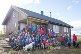 Åpning av Vestfjellhytta 2015. - Foto: Erland Flaten