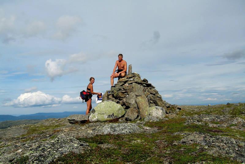 Toppvarden på Kråkfjellet