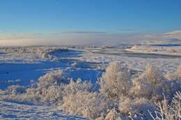 Frost ved Aisaroaive. - Foto: Arvid Frønning