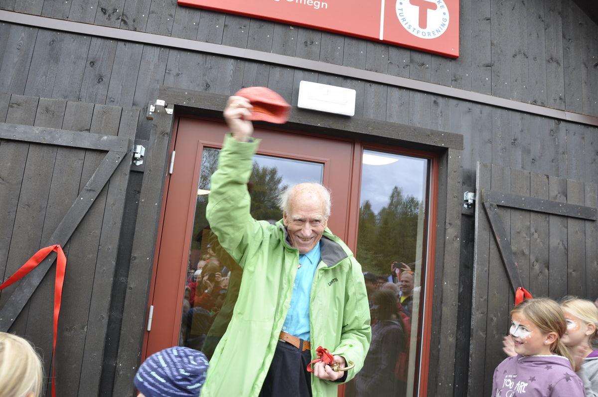 Olav Thon har finansiert den nye aktivitetslåven på Sæteren Gård.
