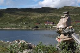Kalhovd Turisthytte - Foto: Ukjent