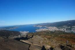 Utsikt fra Løvstakken -  Foto: Gunn-Anita Rysjedal