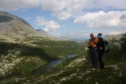 Flott utsikt mot Bjørnhollia  - Foto: Marita Tollefsen