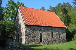 Løvøya kapell -  Foto: Even Borten Lunde