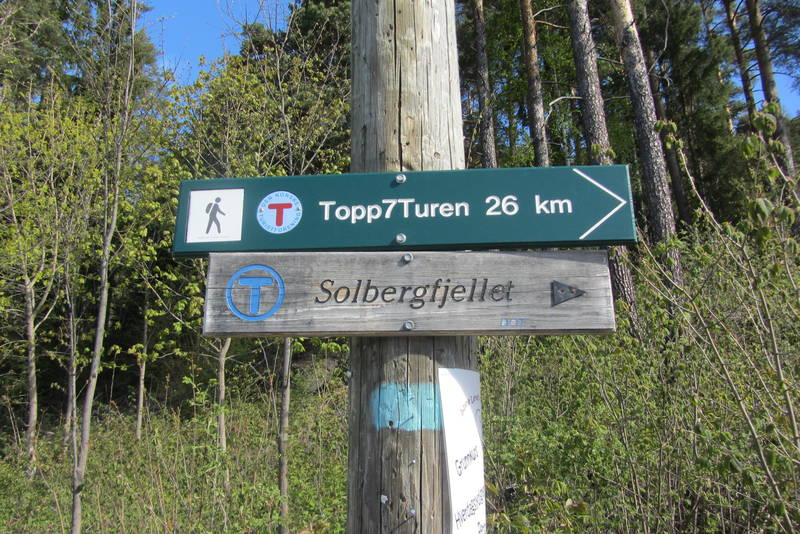 Topp7Turen er totalt 26 km.