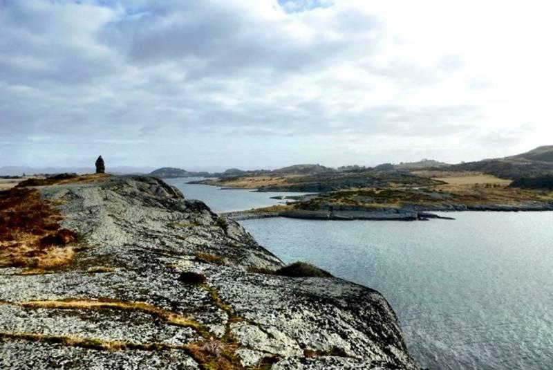 Utsikt østover mot Ryfylke