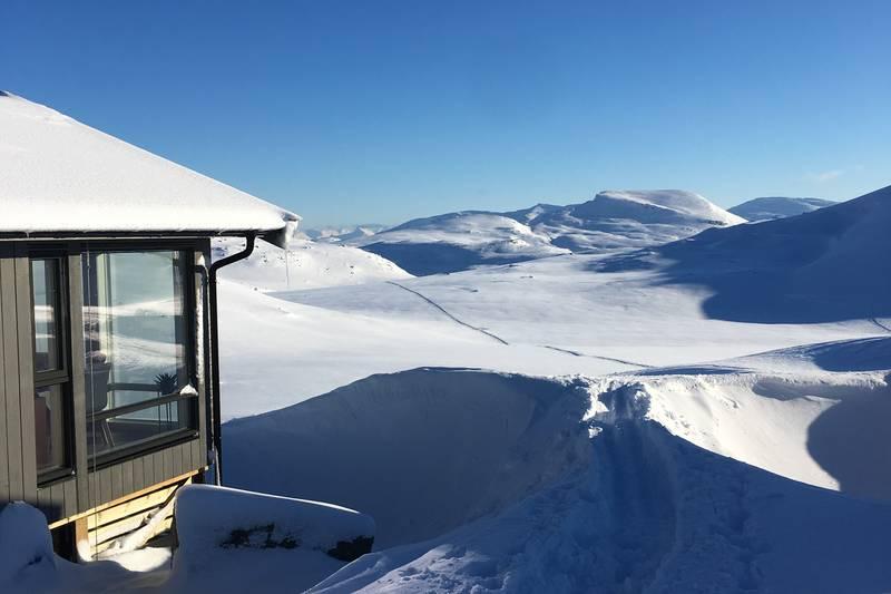 Utsikt nesten til Sverige