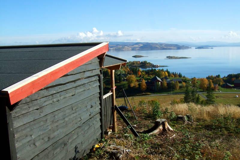 Åsberget ved Undersåker er en flott liten avstikker (merket)