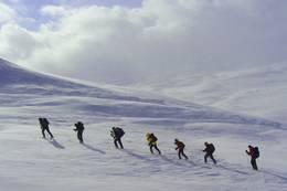 Vi nærmer oss toppen.... - Foto: Erling Grøstad
