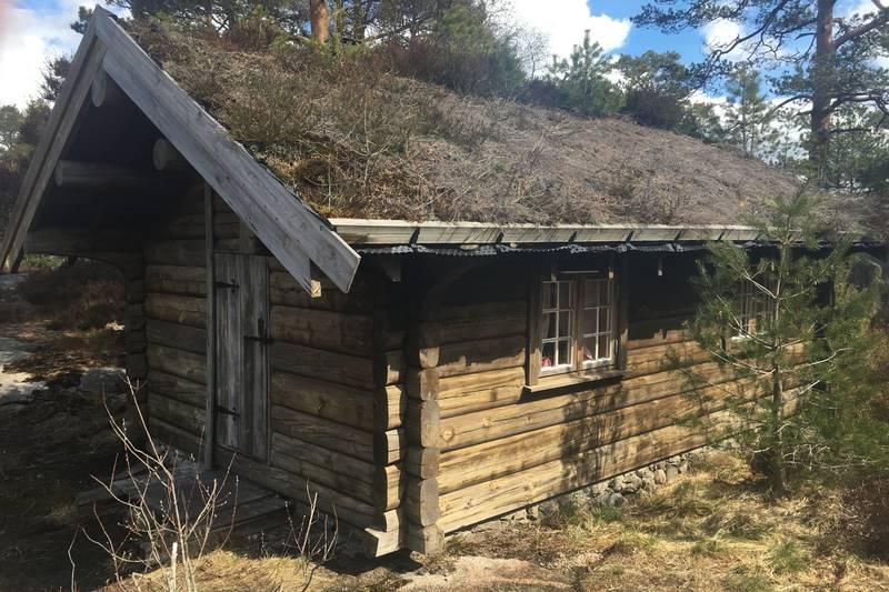 Den opprinnelige hytta