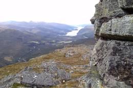 Utsikt mot Vinjefjorden -  Foto: Willy Merkesnes