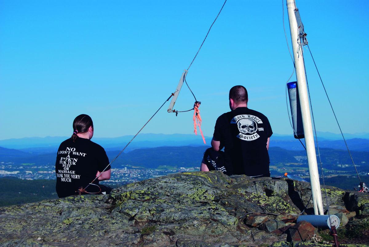 Storheia er Bymarkas høyeste toppunkt, 565 moh.