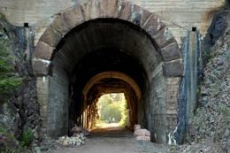 Tunnellen overfor Kvernbakken -  Foto: Pål S. Malm