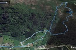 Tur 20 fra Google Earth - Foto: Robert Grod