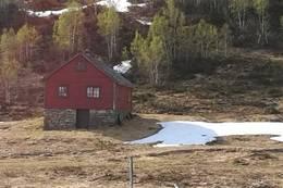 Stølen på Byrkjesete - Foto: Inger Dysvik