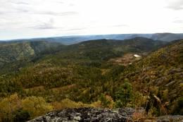 Utsikt mot Drangedal -  Foto: Knut Åkredalen
