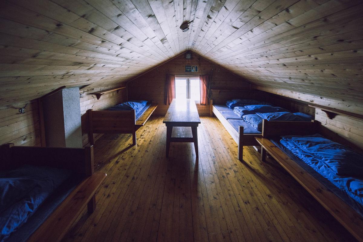 Sovesal på loftet