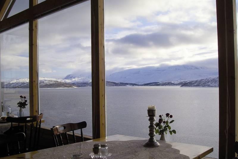 Utsikt fra restaurant