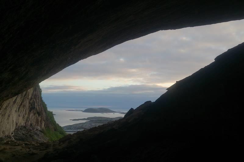 Utsikt fra Halvikhallin