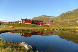 Fondsbu i høstvær 2011  -  Foto: hauk-h myrvold
