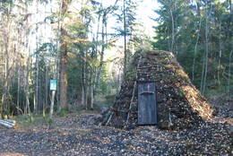 Milekoia ved Småvannsbu - Foto: Hans Raftevold