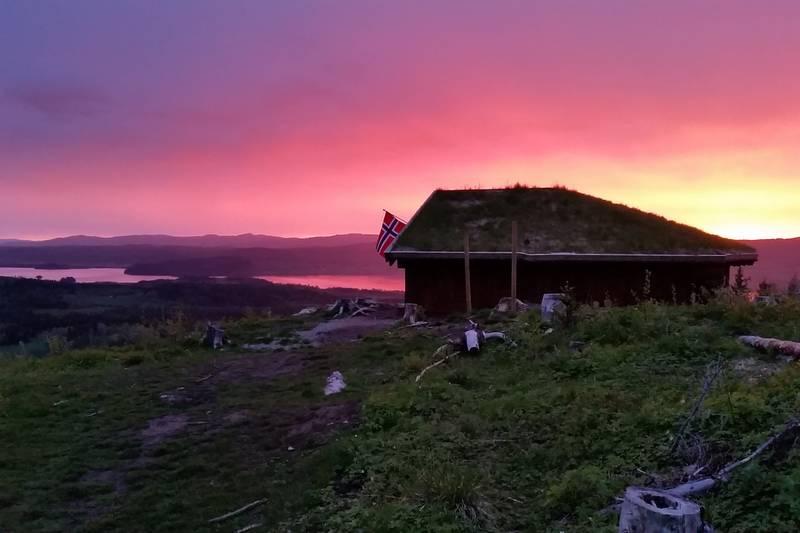 Utsikt fra Persgårdshalla