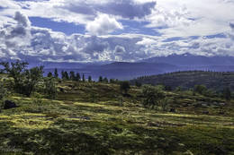 Utdikt sørvest - Foto: Kjell Fredriksen