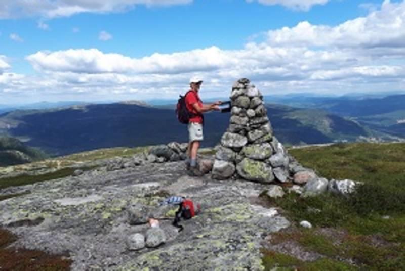 På toppen av Tjønnefjell