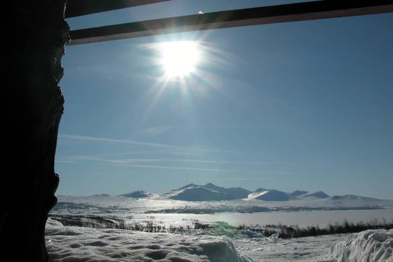Utsikt mot Sylmassivet
