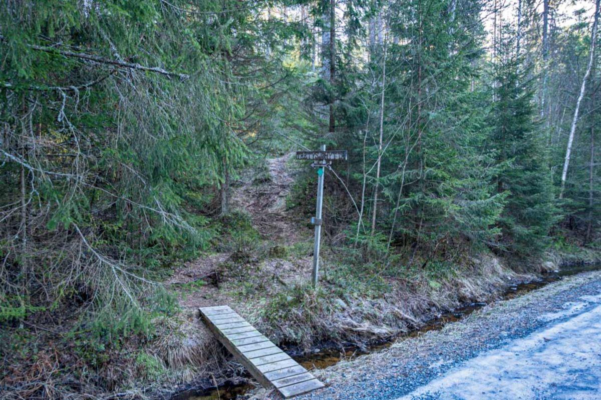 Stien til Tretysjøhytta