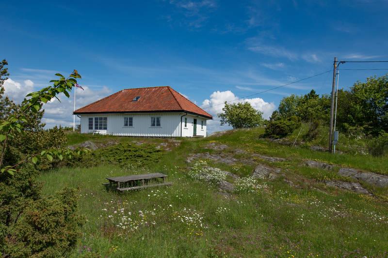 Gammeløya hytta