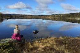 Skålsrudvatnet -  Foto: Solveig Hjallen