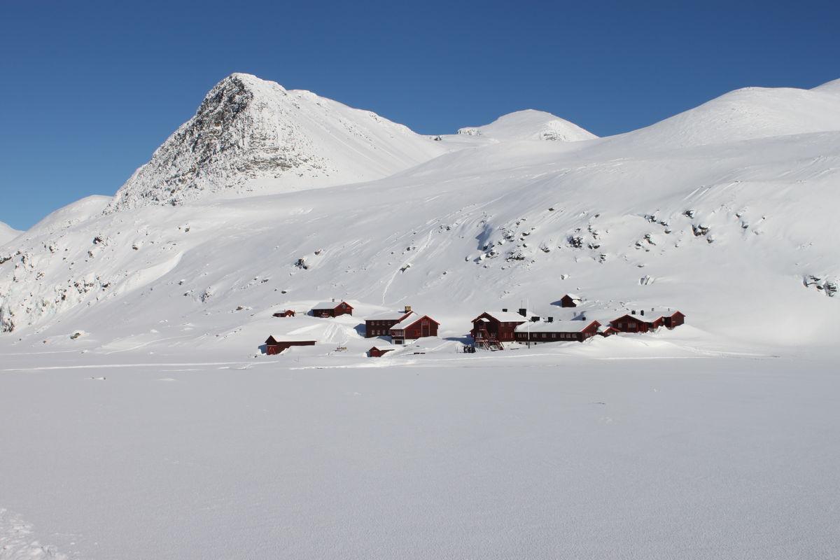 Rondvassbu Vinteren 2013