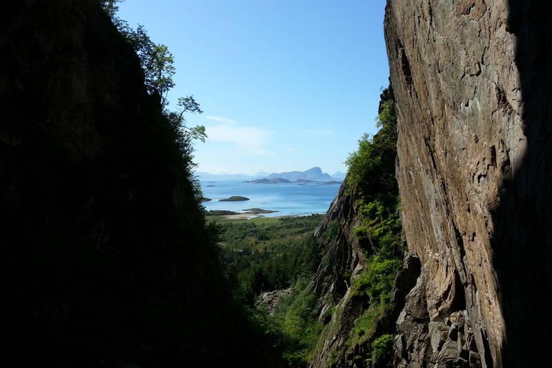 Utsikt fra Bolgbørra mot sør