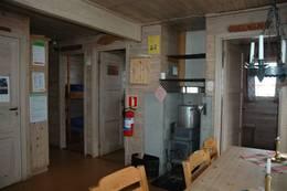 Inne på Lakkenstova - Foto: DNT sør